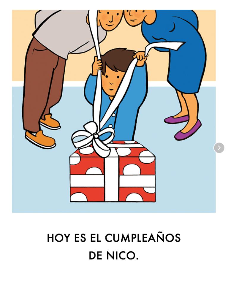 Es el cumpleaños de Nico
